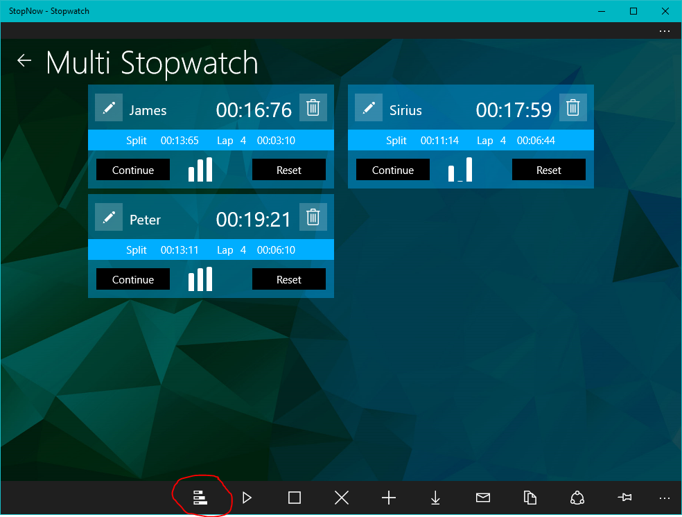 stopwatch app for pc